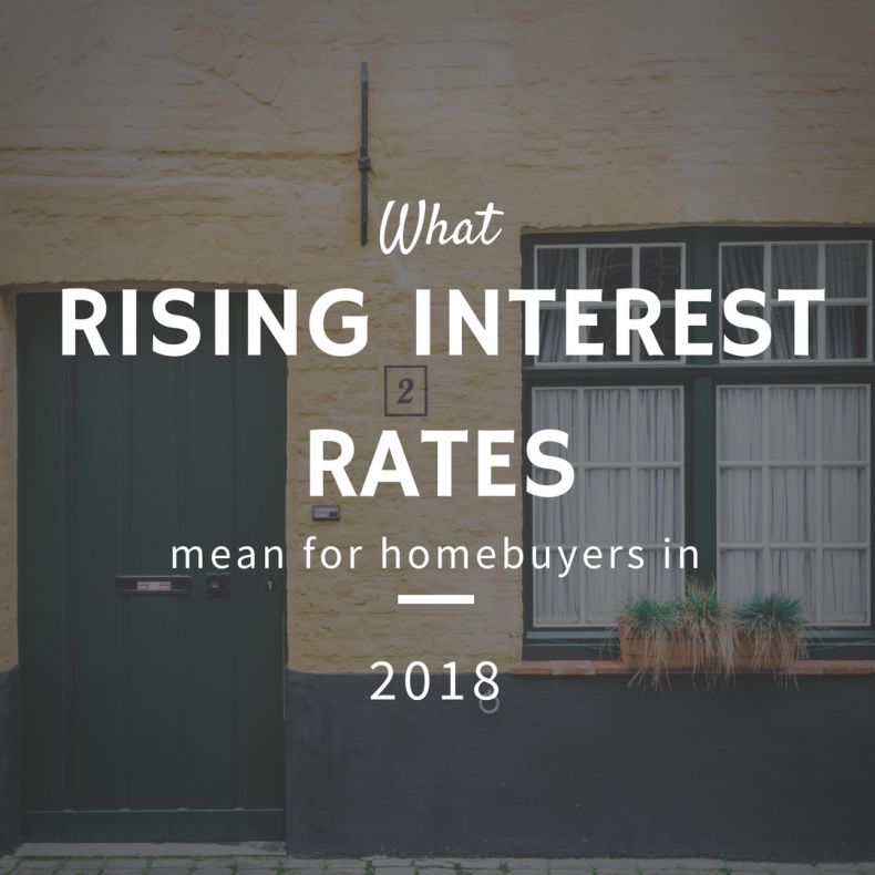 What Rising Interest Rates Mean for Homebuyers in 2018