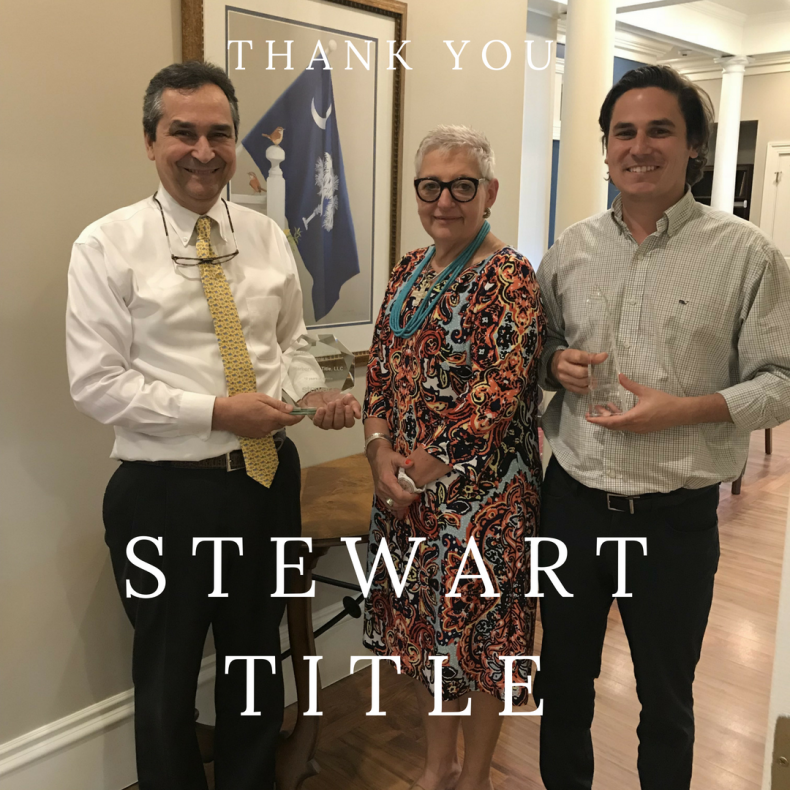 Donaldson Law Firm Receives Honors from Stewart Title