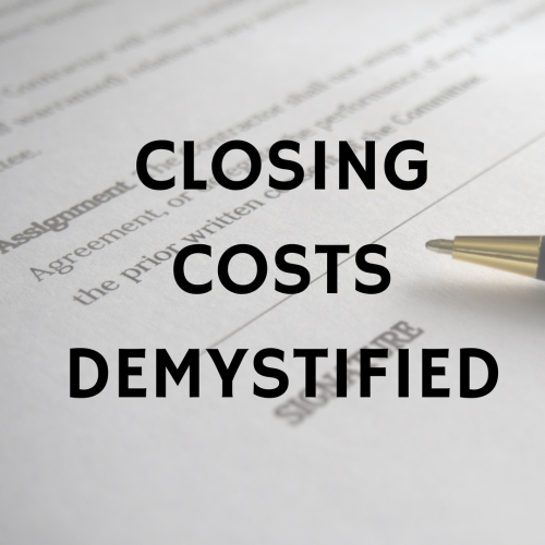 Closing Costs Demystified